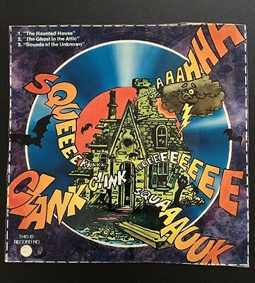 Vintage Halloween Honeycomb Cereal Box Record #3