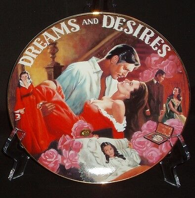 "Bradford Gone With The Wind: Musical Treasures ""Dreams and Desires"" Plate"