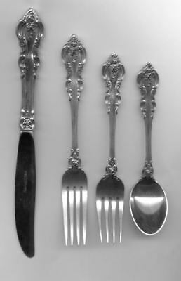 El Grandee 4pc Modern Setting by Towle Sterling Silver