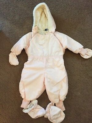 Vintage Baby Snow Suit By Jewel Togs