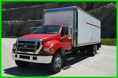 2005 Ford F750 24ft Box Truck w/ Lift gate (Cummins Diesel) 33k GVW Buy Now!