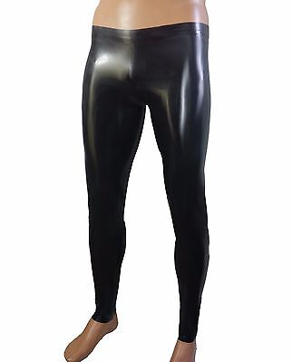 Mens Rubber Pants Latex Clothing Leggings Pants Trousers 0 4 Mm Thick Rubber