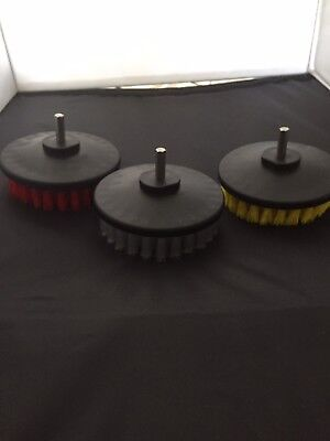 Set Of 3 Drill Brushes