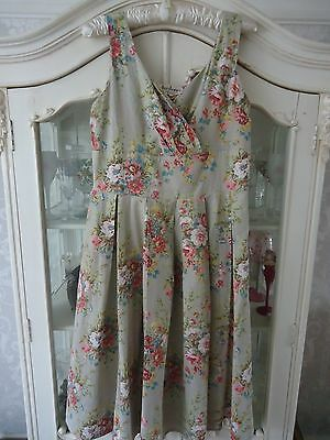 Ladies Lazybones flora (vintage look) dress size L