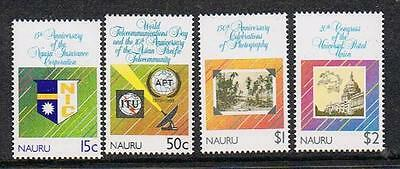 "STAMPS  NAURU  1989  Anniversaries set  (MNH)  lot 223a   ""WE COMBINE POSTAGE"""