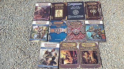 11 Dungeons And Dragons 3rd & 4th Edition Book Lot Manuals Players Handbooks