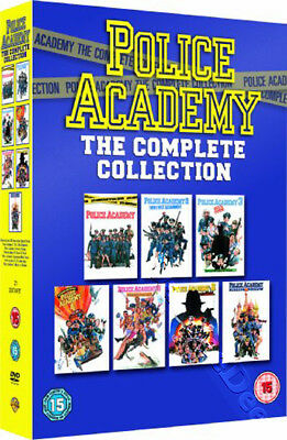 Police Academy - Complete Collection NEW PAL Classic 7-DVD Set Steve Guttenberg