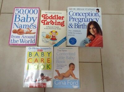 Pregnancy - Birth - New Born - Toddler - 5 Books Collection