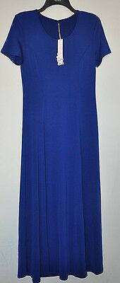 New with tag women's beautiful blue short sleeve dress-size:M