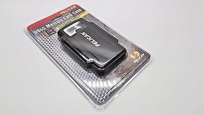 PELICAN Black 0945 CF Compact Flash memory Card Case Sealed New