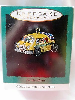 1994 Hallmark Miniature Christmas Ornament ON THE ROAD TAXI #2 IN SERIES