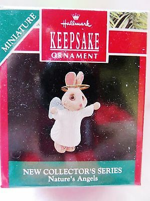1990 Hallmark Miniature Christmas Ornament NATURE'S ANGELS #1 IN SERIES