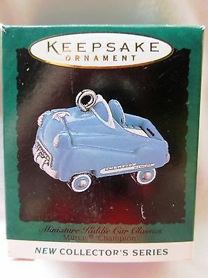 1995 Hallmark Miniature Christmas Ornament KIDDIE CAR CLASSICS MURRAY CHAMPION