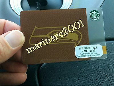 2017 Starbucks Seattle Seahawks Card - In Hand, Ships Today!