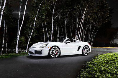 2016 Porsche Boxster Spyder 2016 Porsche Boxster Spyder *highly optioned & low miles*