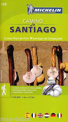 Camino de Santiago Zoom Map - MICHELIN 160 - NEW - LATEST EDITION