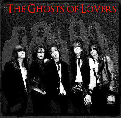 The Ghosts of Lovers - 'The Ghosts of Lovers' - New 15 Track Album - Glam / Punk