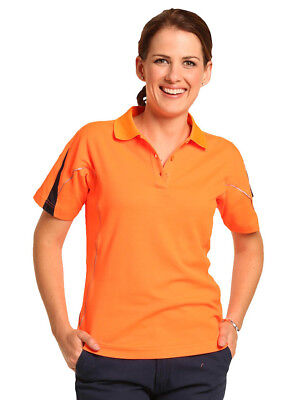 NEW Ladies Legend Polo with Reflective Piping