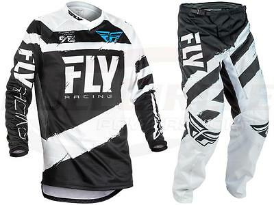 Fly Racing Black F-16 Jersey & Pant Combo Sizes MX/ATV/BMX/MTB 2018 Riding Gear