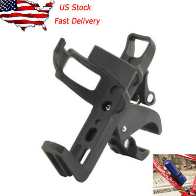 For Black Motorcycle Bike Stock Handlebar Mounted Clamp On Cup Holder Beverage