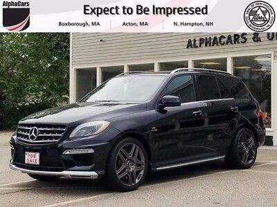 2013 Mercedes-Benz M-Class  Certified Pre Owned AMG Performance Pkg AMG Black on Black Financing & Trades