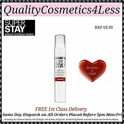 NEW Maybelline Superstay 24H Primer 20ml - Sealed + FREE 1st Class Delivery
