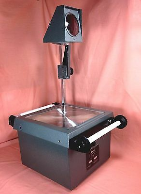 Eiki Overhead Projector - 2 New Lamps - W/ 50' of Transparency Film and Rollers