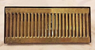 Brass Surface Beer Drip Tray Tap Kegerator Faucet Draft 12x5 with Drain