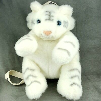Siegfried And Roy At The Mirage White Tiger Plush Toy backpack Las Vegas