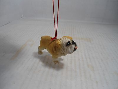Bulldog Collectible: Bulldog  Figurine With Eyelet For Hanging Up.