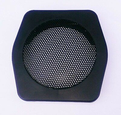 Volvo 240 front speaker mount and grille  1981-1993 black