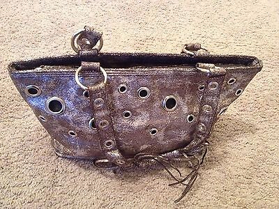 Hand Bag Distressed By Gold Touch