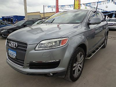 2008 Audi Q7 Premium Sport Utility 4-Door 2008 Audi Q7 Clean Car Fax One Owner SUV with Factory Installed TV's