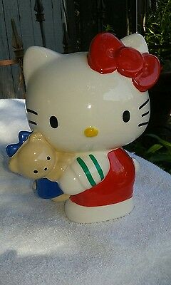 Rare Sanrio Hello Kitty Piggy Bank Figurine