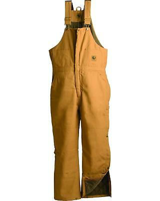 Berne Duck Deluxe Insulated Bib Overalls - Tall - B415DBNT