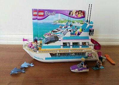 LEGO Friends 41015 Dolphin Cruiser, excellent condition, with instructions