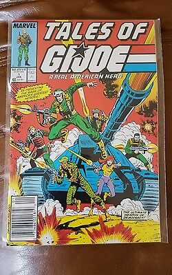 Marvel Tales of G.I. Joe A Real American Hero Comic Issue #1