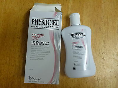 Physiogel Hypoallergenic Calming Relief Lotion 200ml (Lot 289T)