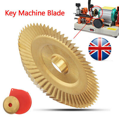 UK Craftsman Key Cutting Blade Machine Disc Blade Cutter Tool 60*7.3*12.7 mm