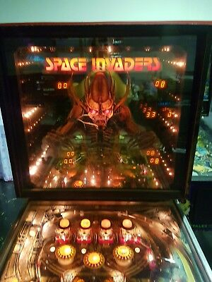 Space Invaders Pinball Machine by Bally - 99c NO RESERVE