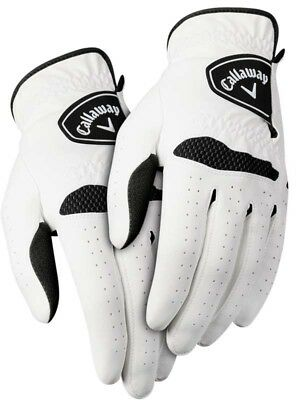 Callaway Xtreme 365 Pack Of 2 Golf Gloves White