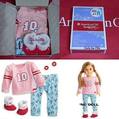 American Girl Christmas Holiday Penguin PJ's Pajamas for doll NEW! TRULY ME