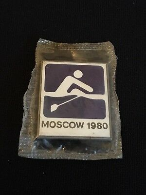 1980 Moscow Olympics Rowing Pin #369