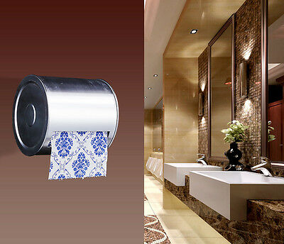 Length13CM Wall Mounted Bathroom Waterproof Toilet Roll Paper Tissue Box Holder