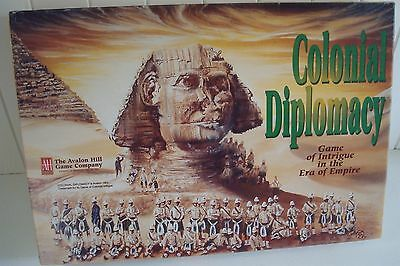 Colonial Diplomacy - An Avalon Hill Board Game 1994 RARE