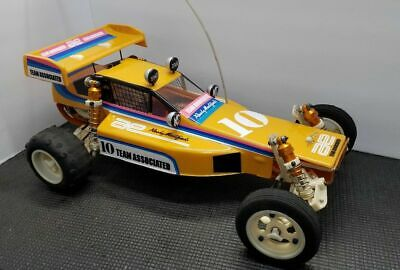 VINTAGE PROTECH 2 II RC10 RC 10 BODY AND WING     jrx2