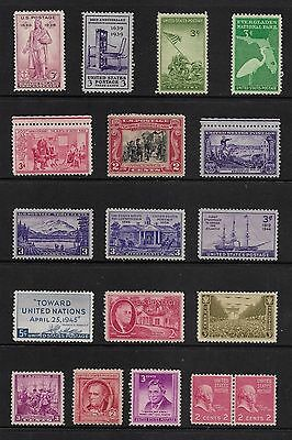 USA - mixed early mint collection, from 1936