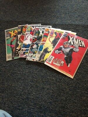 X-men Lot Some Key Issues Sure To Be Classics