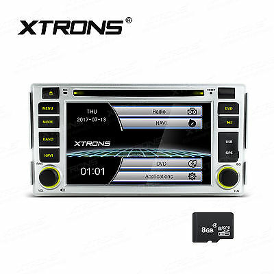 "6.2"" DVD GPS Navigation For Hyundai Santa Fe 2006-2012 Headunit Stereo Bluetooth"