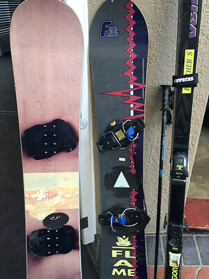 Two Snowboards And Skiis (All Together Not Sold Separately)